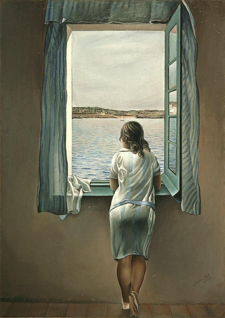 dali-muchacha-en-la-ventana-1925
