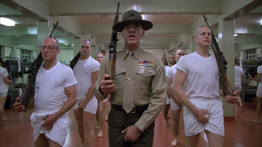 Full Metal Jacket - Aquí mi fusil, aquí mi pistola.