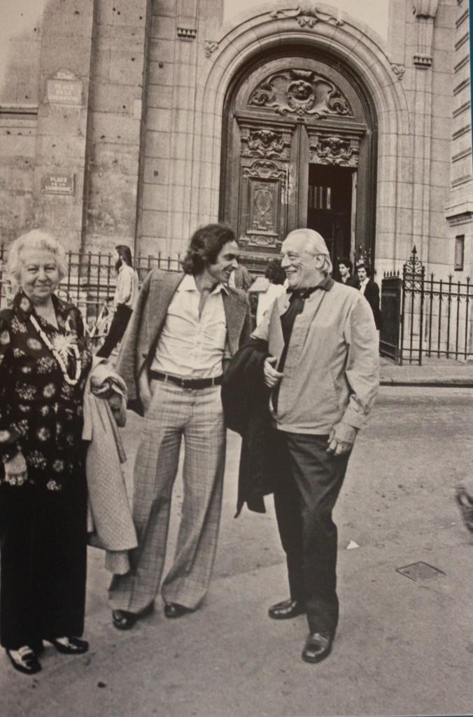 María Teresa León, Francisco Ramírez y Rafael Alberti