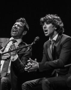 Árcangel y Poveda en el Homenaje a Rancapino en El Teatro Lope de Vega