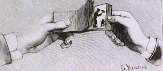 Libro animado, flip-book o folioscopio