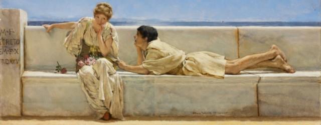 La-pregunta-1877-Sir-lawrence-Alma-Tadema
