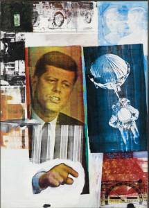 R. RAUSCHENBERG. RETROACTIVO II, 1963.