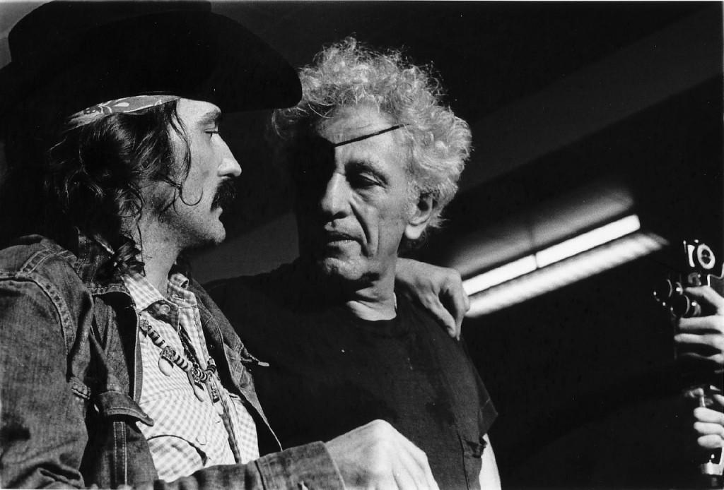 Ray con Dennis Hopper