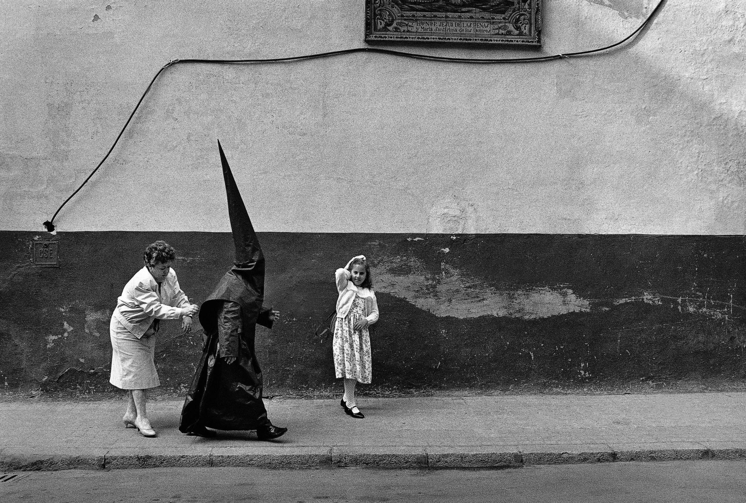 Semana Santa, 1985. Fotografía 24,5 x 38 cm.