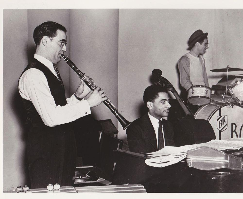 Goodman, Wilson y Krupa