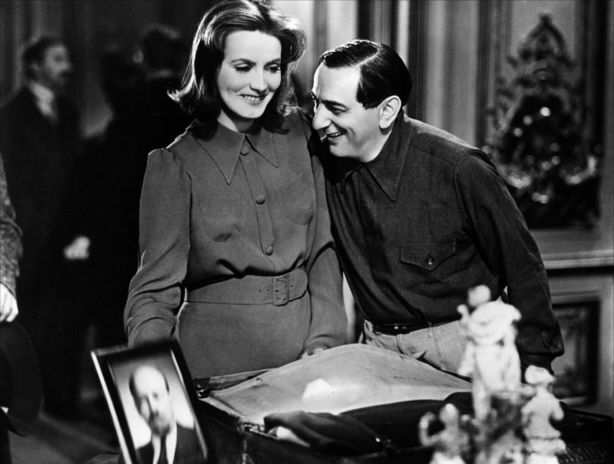 ernst-lubitsch con  Greta Garbo