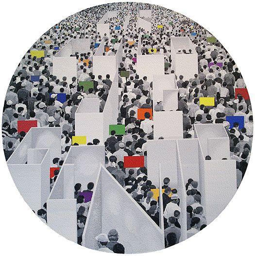 francisco-círculo de gente, 2006