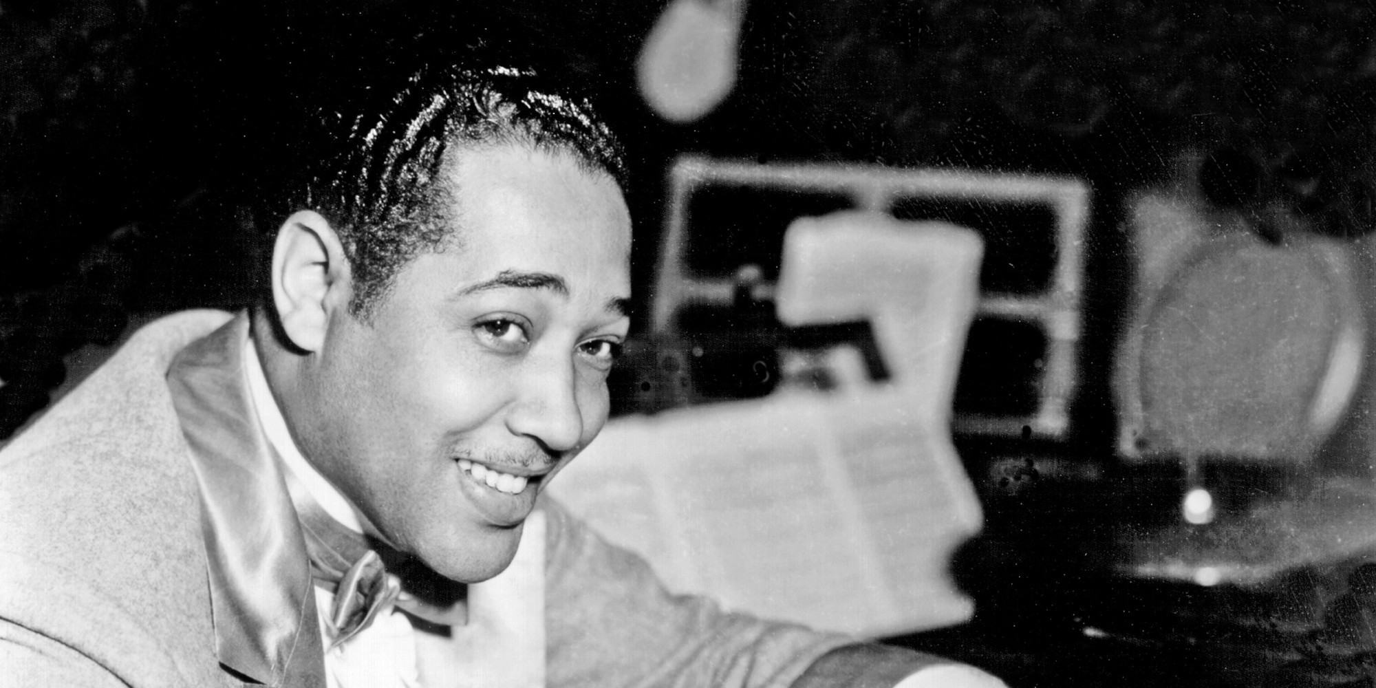 CIRCA 1930:  Composer Duke Ellington poses for a portrait composing at the piano in circa 1930. (Photo by Michael Ochs Archives/Getty Images)