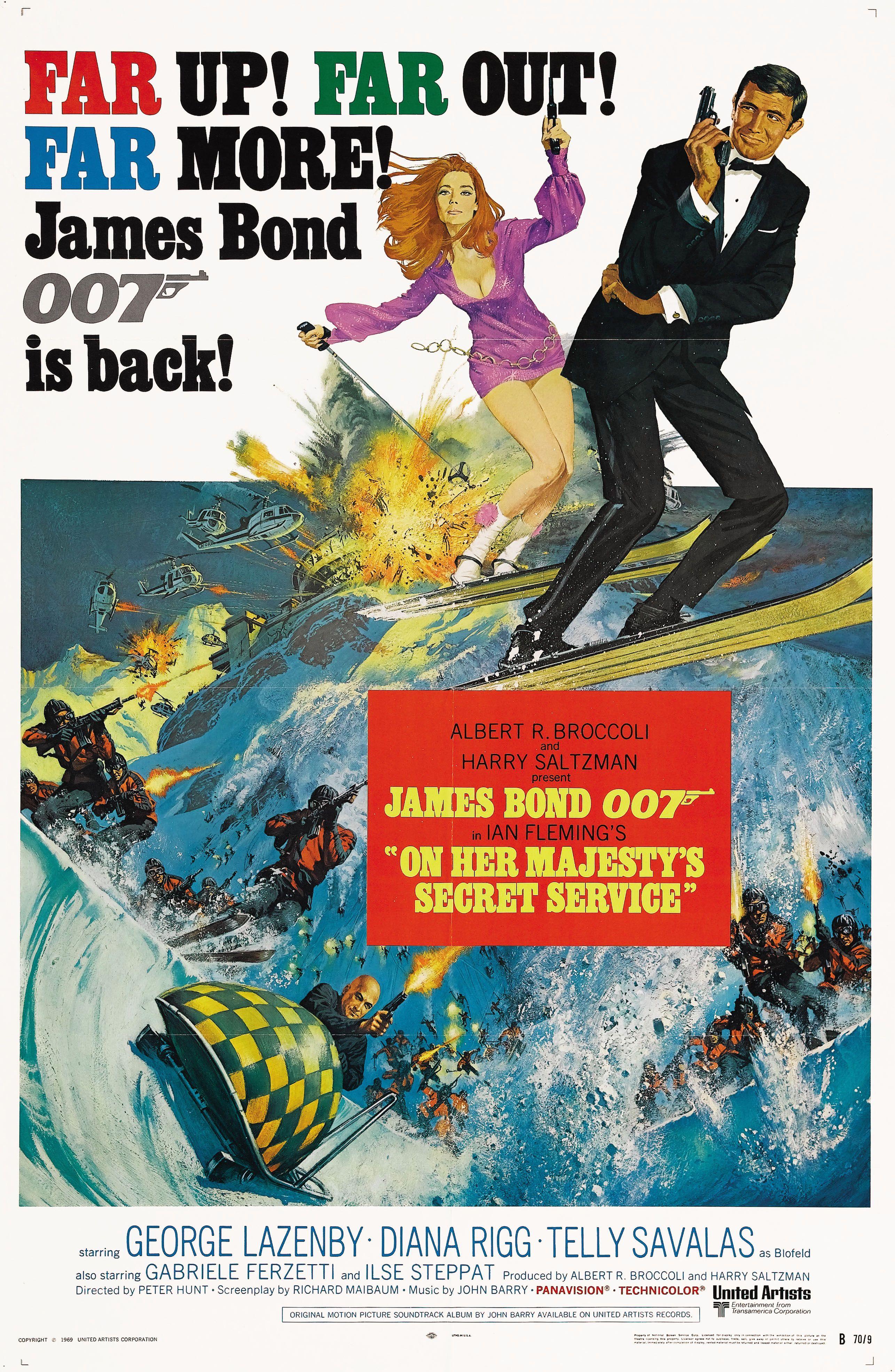 George Lazenby: El 007 despistado